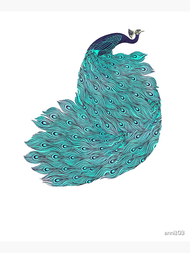 A very, very peacock by anni103