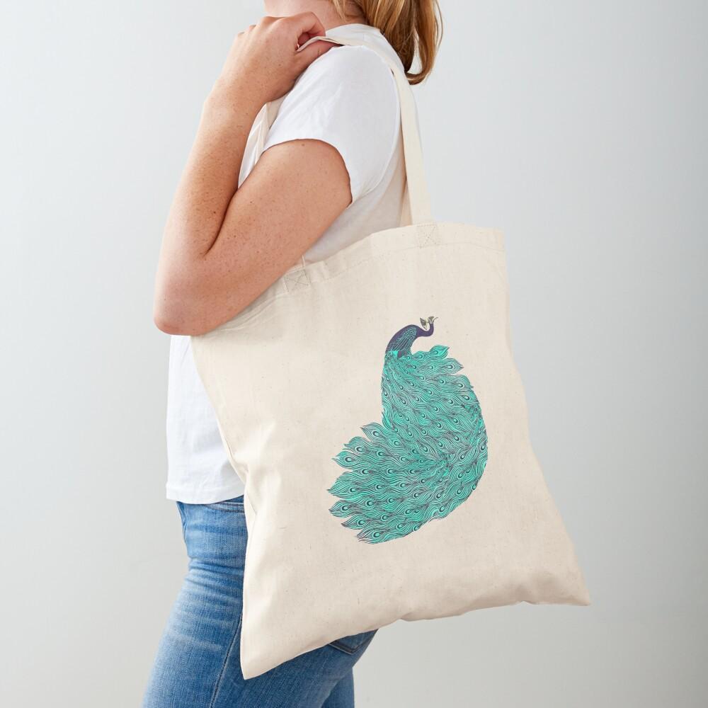 A very, very peacock Tote Bag