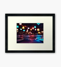 Night Teacupping Framed Print