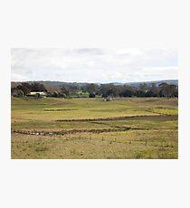 Rural View -Duns Creek, NSW Australia Photographic Print