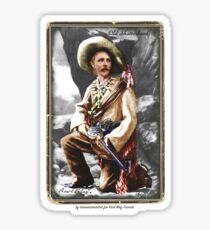 Karl May 1896 by tasmanianartist for Karl May Friends Sticker
