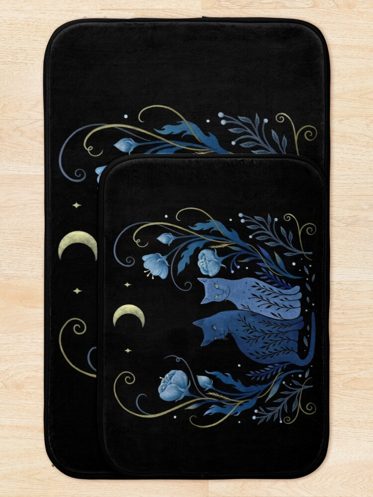 Alternate view of Two Cats Bath Mat