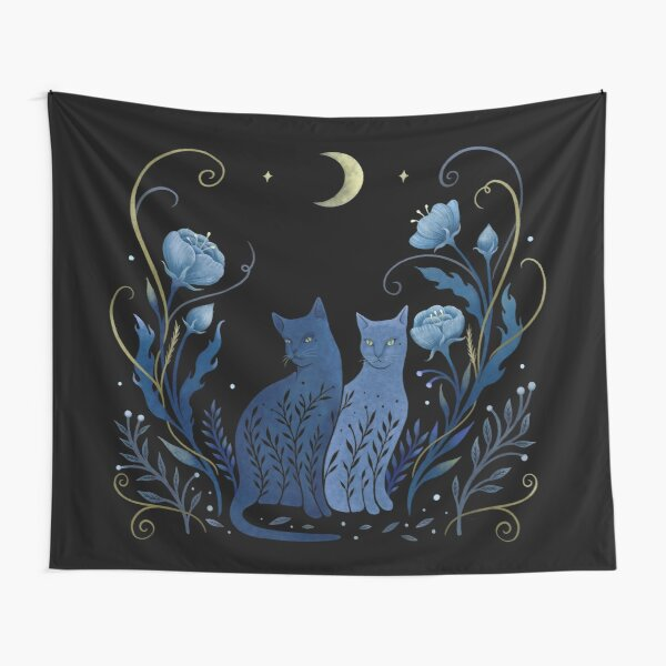 Two Cats Tapestry