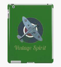 RAF Fighter Vintage Spirit Spitfire Logo Graphic iPad Case/Skin