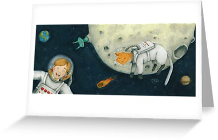 Let's play astronauts! by Rowan Lee-Foyster