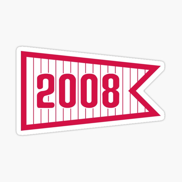 PHI 2008 Pennant Sticker