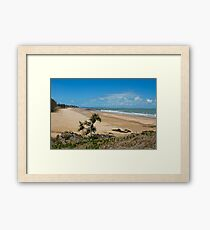 Shelly's  Beach, Capricorn Coast - Qld   Australia. Framed Print