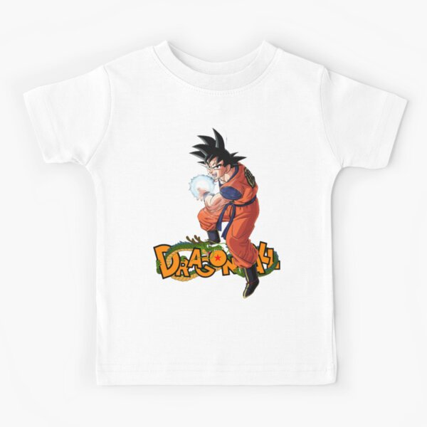 Dragon ball - Goku kamehameha T-shirt enfant