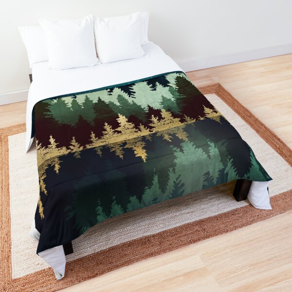 Star Forest Reflection Comforter