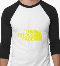 The Cross Face Men's Baseball ¾ T-Shirt