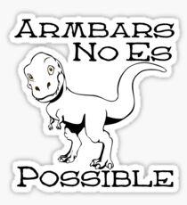 Trex Armbars Sticker