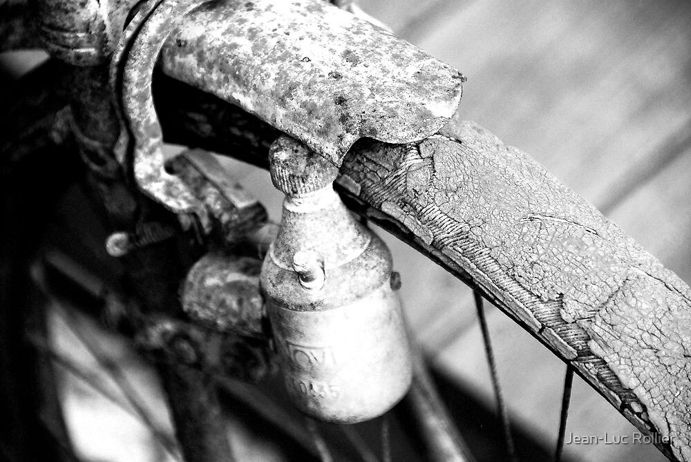 OLD AND RUSTY  by Jean-Luc Rollier