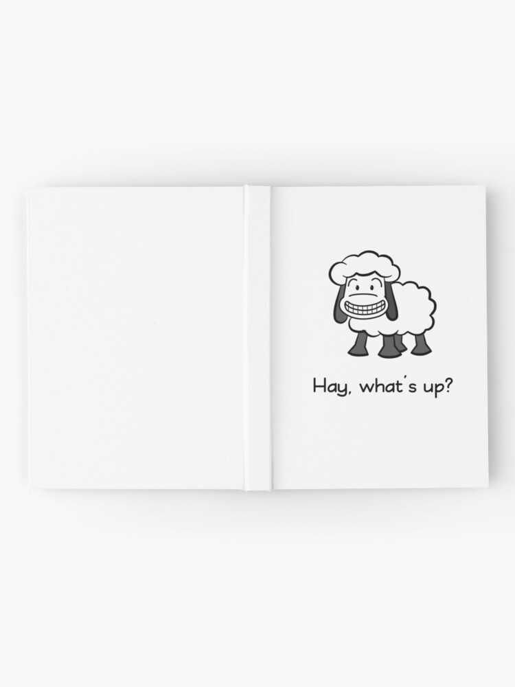 Alternate view of Hay, what's up? Hardcover Journal