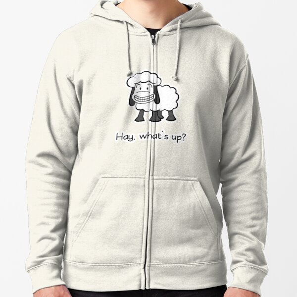 Hay, what's up? Zipped Hoodie