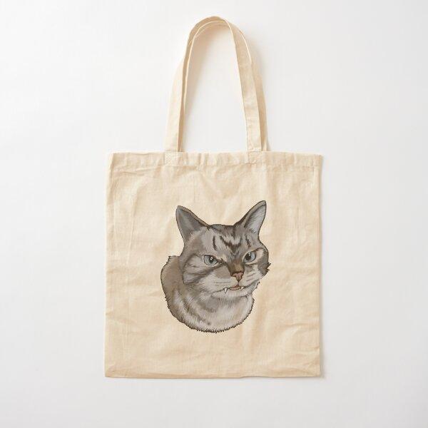 Alien kitten Cotton Tote Bag
