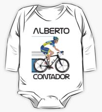 ALBERTO CONTADOR One Piece - Long Sleeve