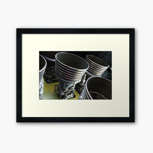 Rocket Engines Framed Art Print