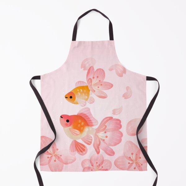 Cherry blossom goldfish 1 Apron