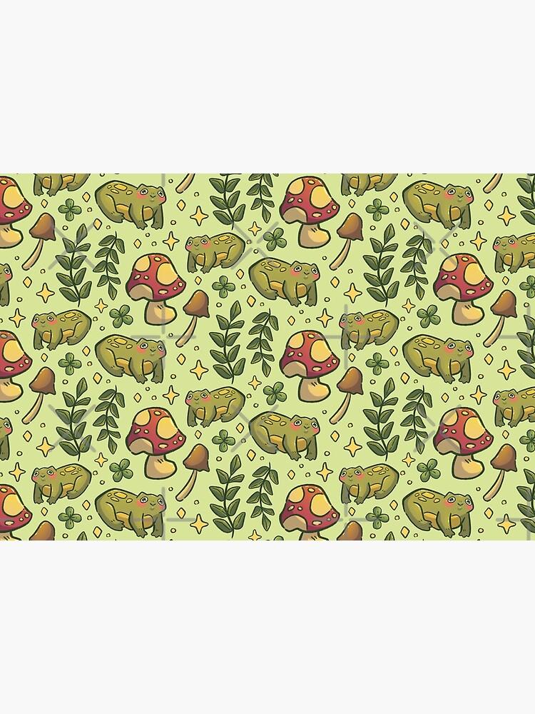 Friendly Forest Froggy Pattern by sarah-heichou