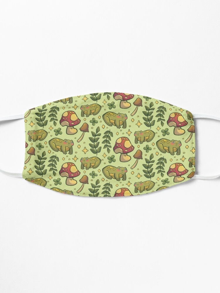 Alternate view of Friendly Forest Froggy Pattern Mask