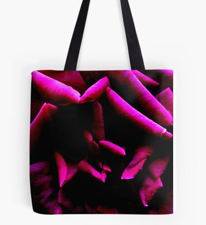 Color Abstract Rose Tote Bag