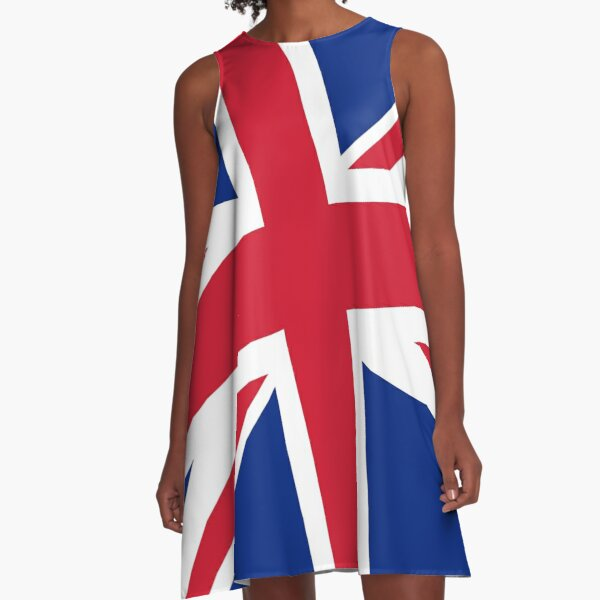 Diagonal state of the Union - Jack that is :) A-Line Dress