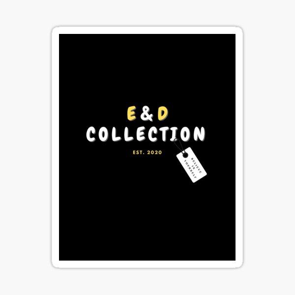 E & D COLLECTION Sticker