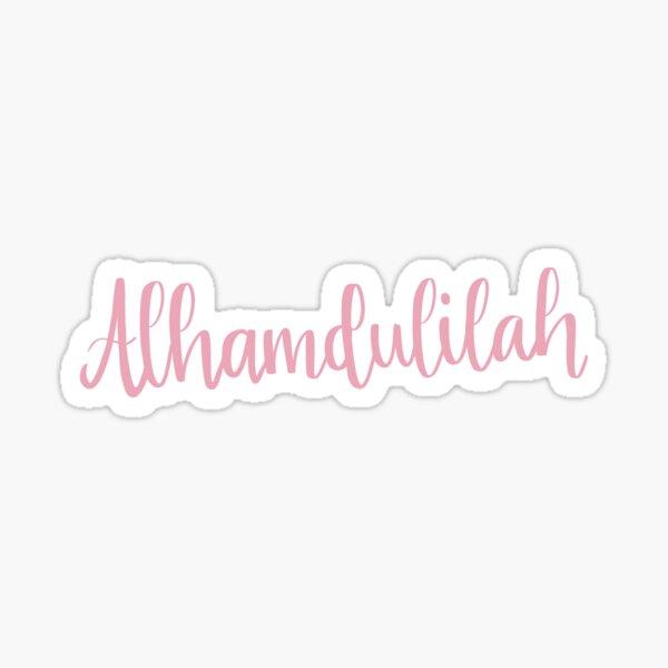 Alhamdulilah Sticker