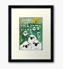 You are My Sheep Framed Print