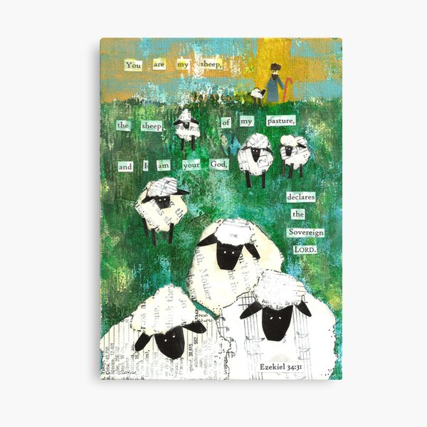 You are My Sheep Canvas Print