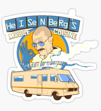 Heisenberg's - The Art of Cooking Sticker