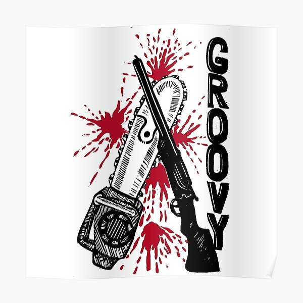 Evil Dead - Groovy Poster