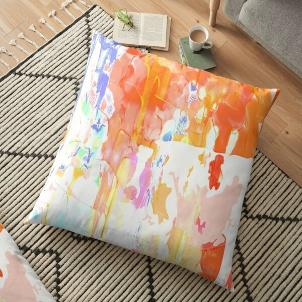 painted Cow Floor Pillow