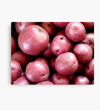 Red Potatoes Canvas Print