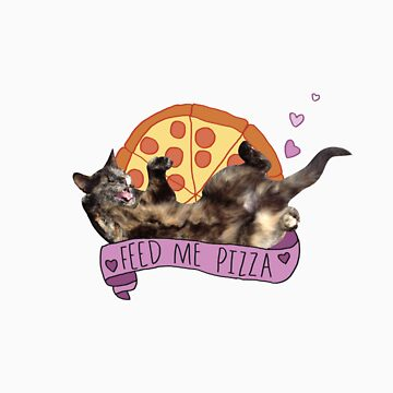 Pizza Cat by elsbian