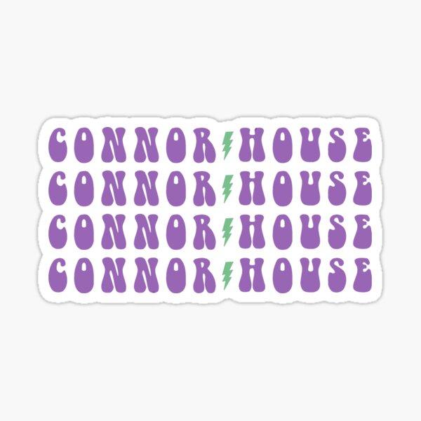 Connor House Sticker
