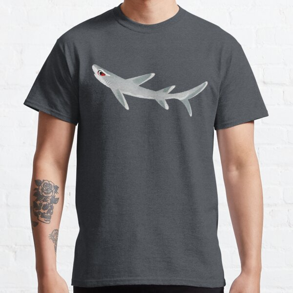 White Tip Reef Shark Classic T-Shirt