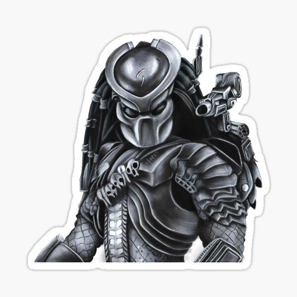 Predator Armored Sticker