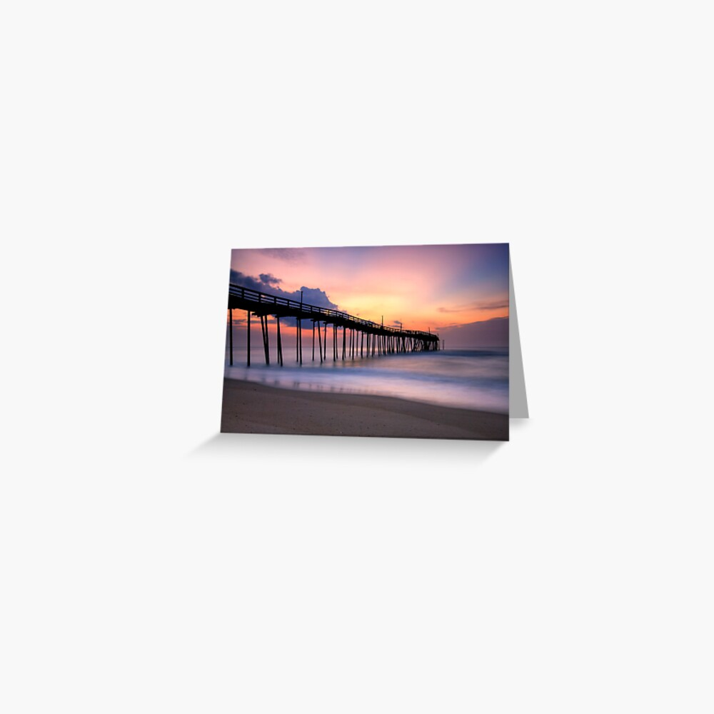 Morning Glow, OBX Greeting Card