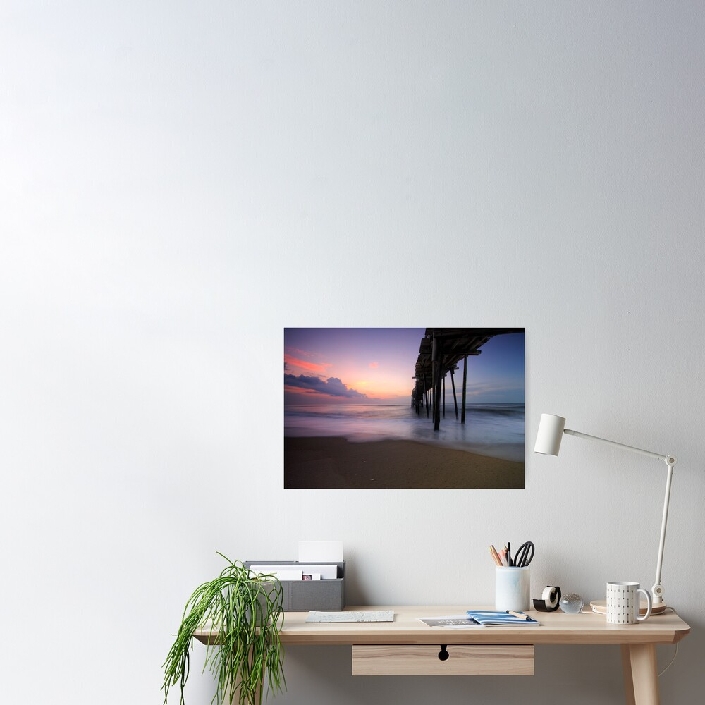 Dawn on the Outer Banks Poster