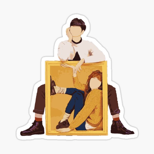 Cheese in the Trap Kdrama Poster Sticker