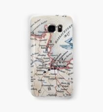 Cartography / boston Samsung Galaxy Case/Skin