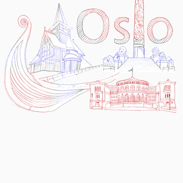 Oslo - Homage to a city by CongressTart