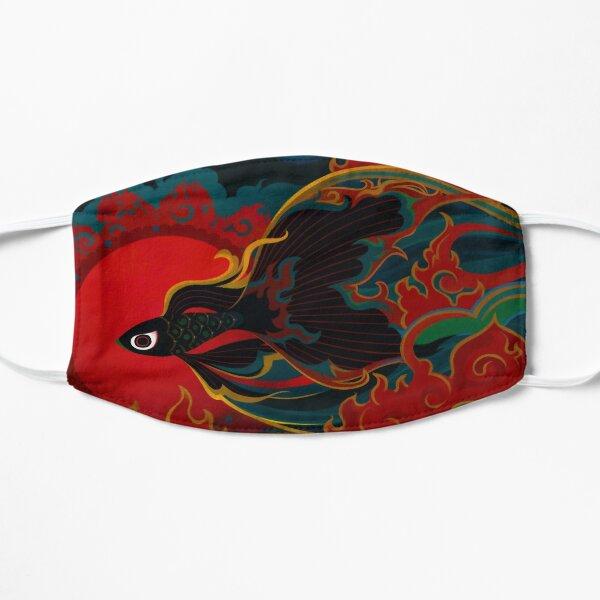 Fire fish Flat Mask