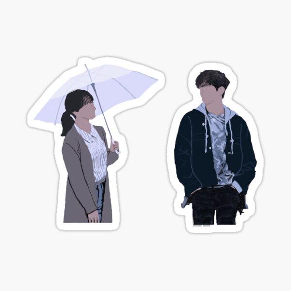 Just Between Lovers Kdrama Poster Junho Sticker