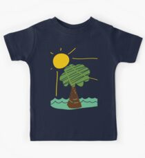 Island Breeze Sun and Palm Tree Ocean Kids Clothes