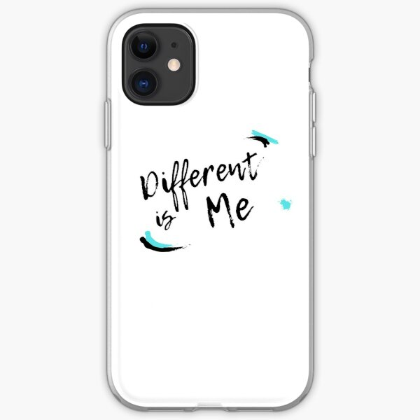 Different Is Me iPhone Soft Case