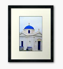 Greek Church Framed Print