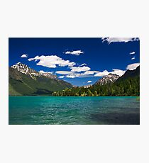 Lake MacDonald, Glacier National Park Photographic Print