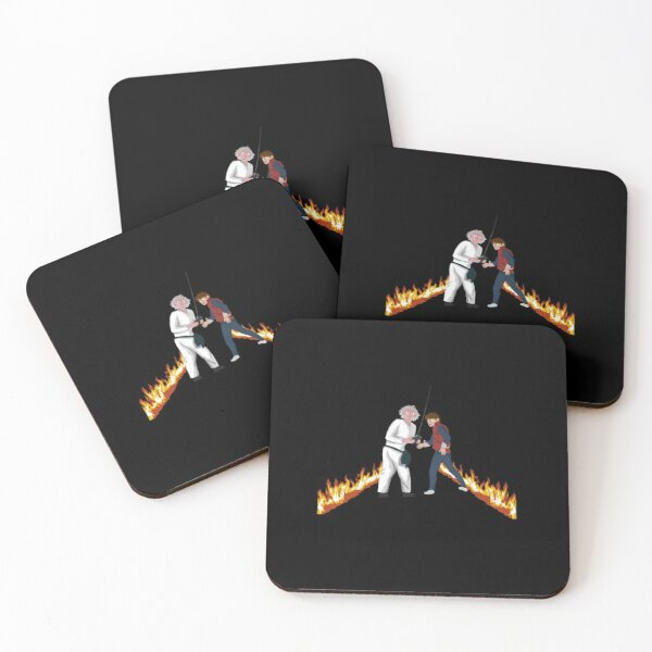 Doc and Marty Coasters (Set of 4)
